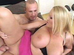 Hot horny whore Laura M gets titty fucked & cummed