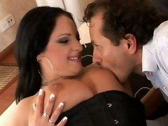 Hardcore big tit fucking with horny busty Martina!